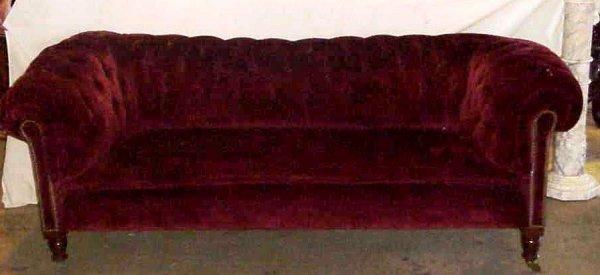 Chesterfield Sofa Red Velvet | Catosfera.net