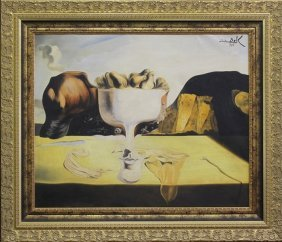 Oil Painting In The Manner Of Salvador Dali
