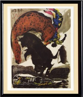 Toros Y Toreros (12a) - Picasso 1959'