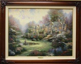Thomas Kinkade - Oil Painting
