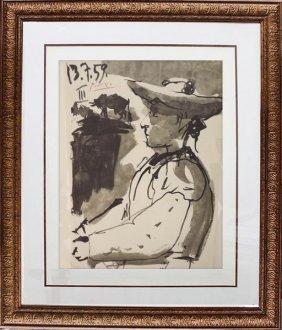 Toros Y Toreros (20a) - Picasso 1959'