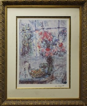 Fruits & Flowers - Marc Chagall