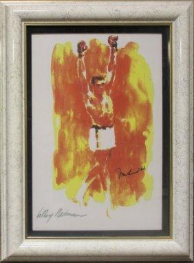 Muhhamad Ali By Leroy Neiman