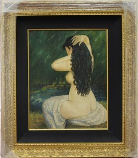 Nude Woman (back Turned) - A. Renoir