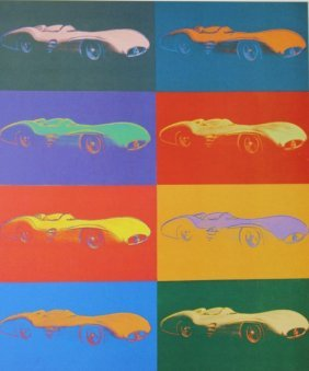 Mercedes-benz (1954) Andy Warhol