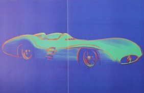 Mercedes-benz 1954 - Andy Warhol