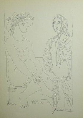 Plate From La Suite Vollard - Pablo Picasso