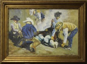 Branding - Original Oil Painting