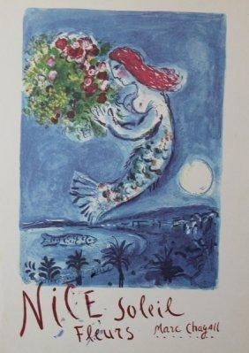 Nice Soleil Fleurs - Marc Chagall