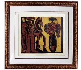 Picador Et Torro (3) - Pablo Picasso