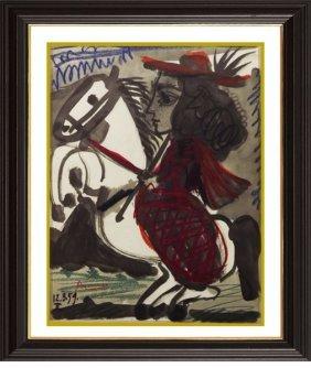 Lithograph - P.40 - Pablo Picasso 1959'