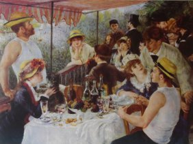 The Luncheon By Pierre Renoir 1881'