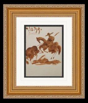 Lithograph - P.41 - Pablo Picasso 1959'