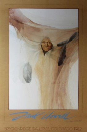 Frank Howell Hand Signed Lithograph