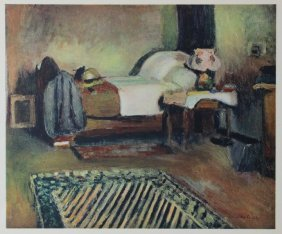 My Room In Ajaccio, 1889' - H. Matisse