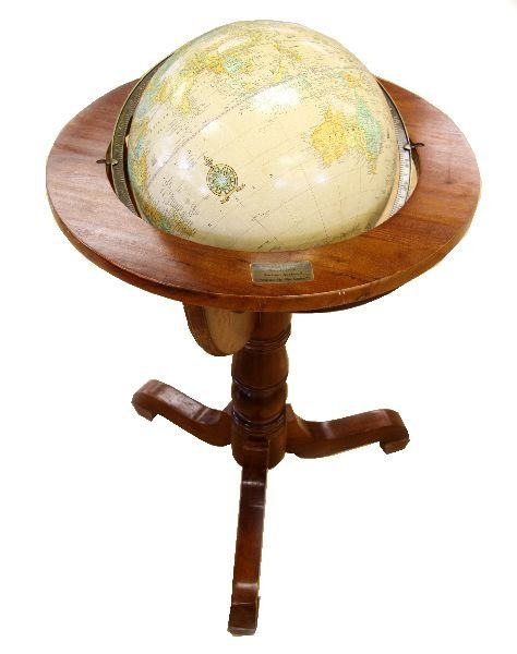 Cram Imperial 16 Quot Floor Globe From Magazine Cover Lot 7073