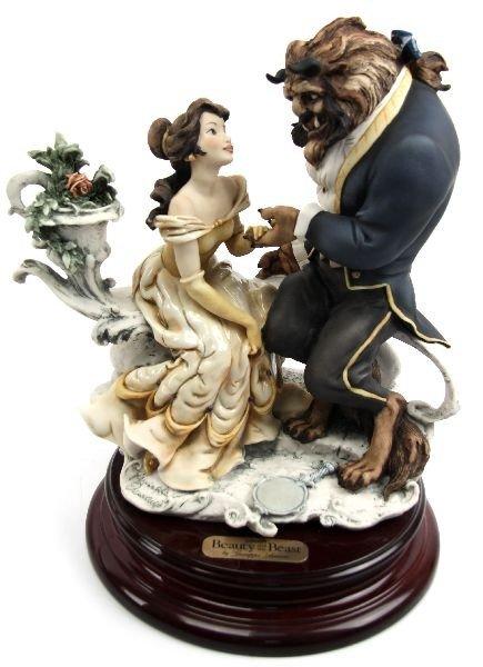 Giuseppe Armani Disney Beauty The Beast Figurine Lot 2120