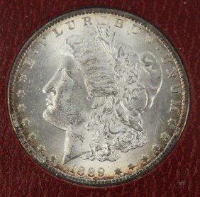 MORGAN DOLLAR 1889S NGC MS63 REDFIELD COLLECTION