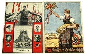 WWII GERMAN THIRD REICH PROPAGANDA POSTCARD LOT