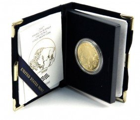 2007 GOLD 1 OZT PROOF BUFFALO COIN