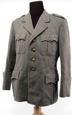 WWII ERA GERMAN ARMY TUNIC INSIGNIA REMOVED