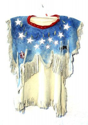 PAINTED NATIVE AMERICAN CHILDS DRESS