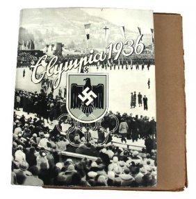 1936 BERLIN OLYMPICS MINT CIGARETTE CARD ALBUM