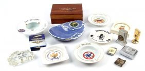 COLLECTION OF WWII ERA MILITARY SOUVENIRS