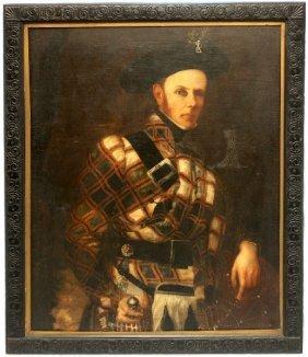 PORTRAIT CAPTN ALEXANDER MACPHERSON W PROVENANCE
