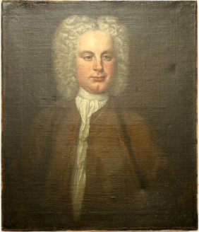 18TH CEN PORTRAIT OF A BARRISTER THOMAS MOULD