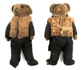 FAMOUS GAR WOOD TEDDY BEARS IN TUXEDOS AND PFD'S