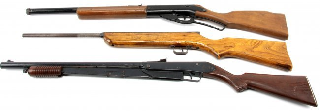 THREE BB GUNS CROSMAN V-350 DAISY MO 96 MO 25 : Lot 3283