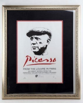 Limited Edition Picasso From The Louvre Poster