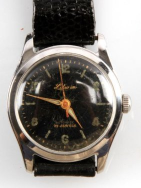Mens Vintage Litwin 25 Jewel Automatic Watch