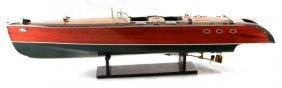 Stancraft Lightspeed Replica Model Speed Boat