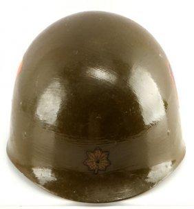 98th Infantry Regiment Decaled M-1 Helmet Liner