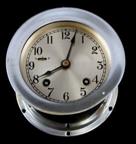 Vintage Chelsea Type 4 7/8 Inch Ships Bell Clock