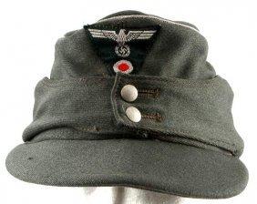 Wwii Third Reich German Heer Army M43 Field Cap