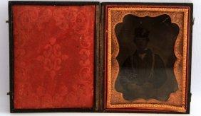 Confederate Civil War Daguerreotype Photo