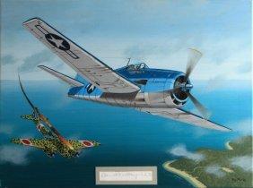 Medal Of Honor Winner's F6f Hellcat Ray Waddey