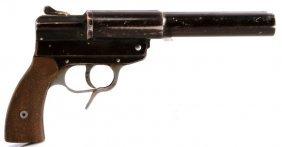 Wwii German Double Barrel Flare Pistol Eeu 1944