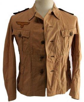 Wwii German Kriegsmarine Battle Dress Shirt