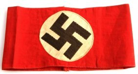 Wwii Third Reich Nsdap Armband Germany Embroidered