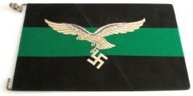 Wwii German Luftwaffe Light Infantry Command Flag