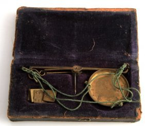 Civil War Era Us Issued Apothecary Field Scale