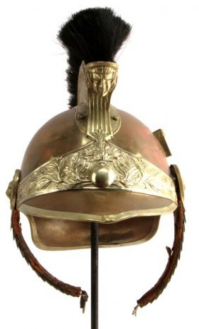 Early 20th Century French Cavalry Helmet