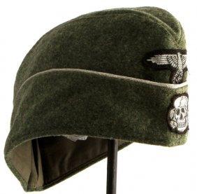 Wwii Third Reich German Waffen Ss Overseas Cap