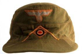 Wwii German Wehrmacht Reconnaissance Tropical Cap