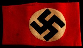 Wwii Third Reich German Nsdap Party Armband