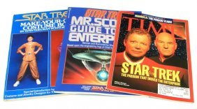 3 Star Trek Collectible 1990's Magazines